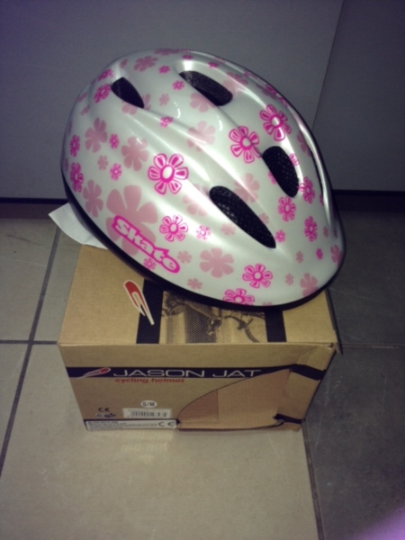 Casco ciclo J&J Skate Girl