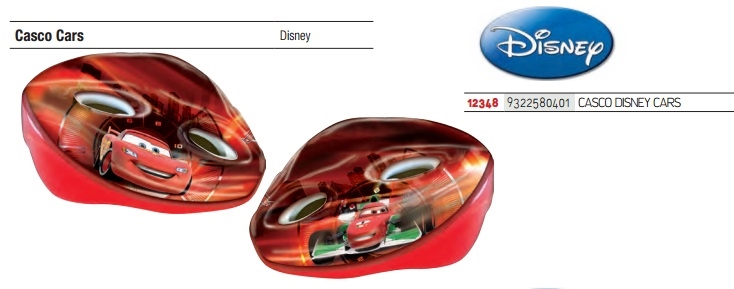 Casco ciclo Disney Cars