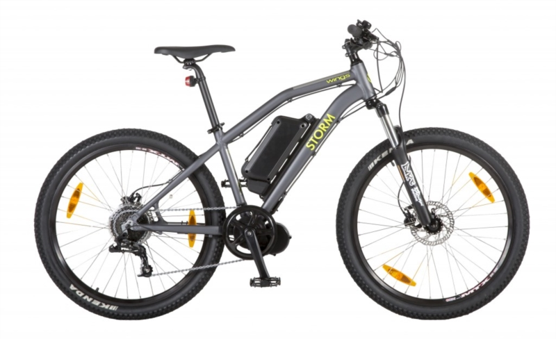 Bicicletta elettrica Wings Storm 27,5