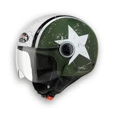 CASCO AIROH URBAN JET COMPACT PRO SHIELD