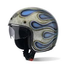 CASCO AIROH URBAN JET RIOT FLAME [AIROH]